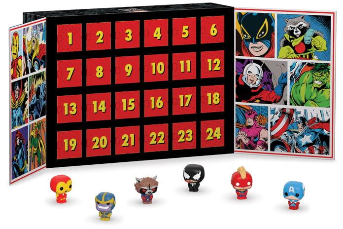 Marvel Funko Pop Adventskalender inhoud