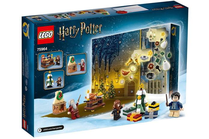 LEGO Harry Potter Adventskalender achterkant