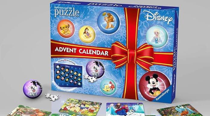 Disney Ravensburger puzzel adventskalender
