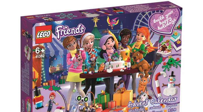 LEGO Friends adventskalender 2019 41382
