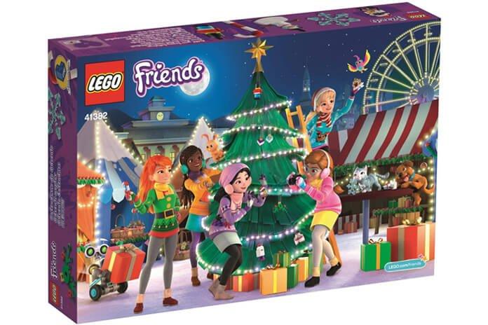 Lego Weihnachtskalender 2019.Lego Friends Adventskalender 2019 41382 Adventskalender Tips