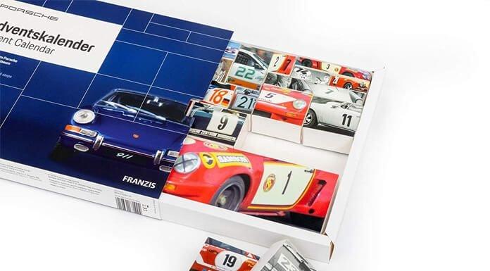Porsche auto adventskalender