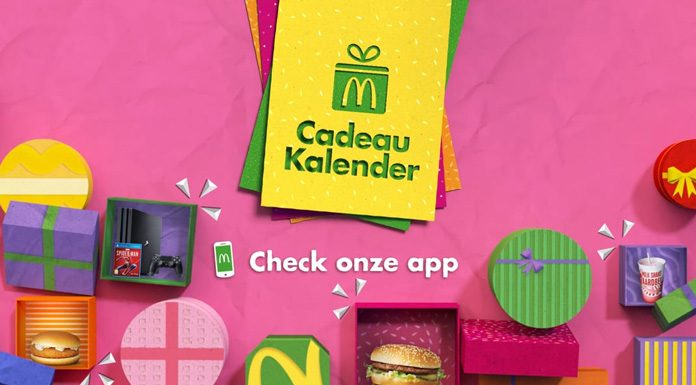 McDonald's Cadeau Kalender 2019 Adventskalender