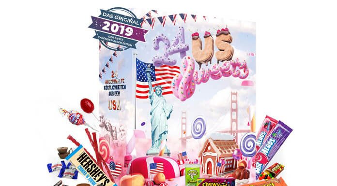 Amerikaanse adventskalender 2019 snoep