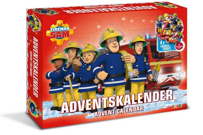 Brandweerman Sam adventskalender
