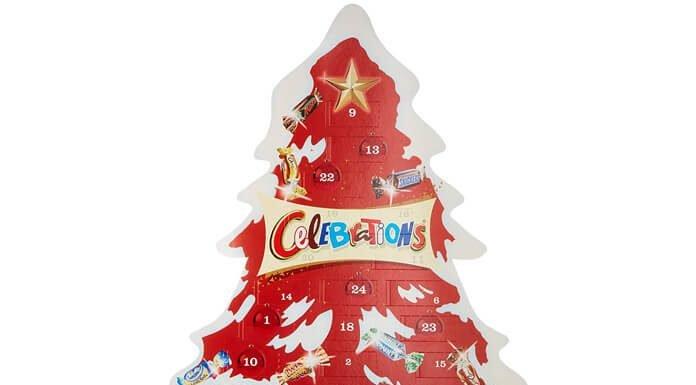 Celebrations adventskalender Action