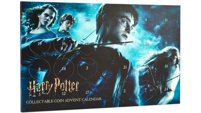 Harry Potter verzamelmunten adventskalender 2019