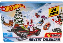 Hot Wheels adventskalender 2019