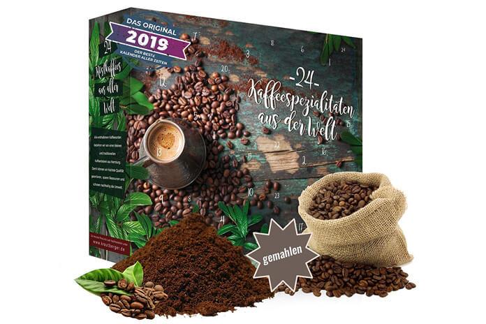 Koffie adventskalender 2019