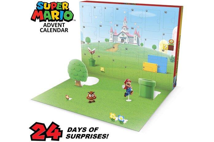 Nintendo Super Mario adventskalender 2019