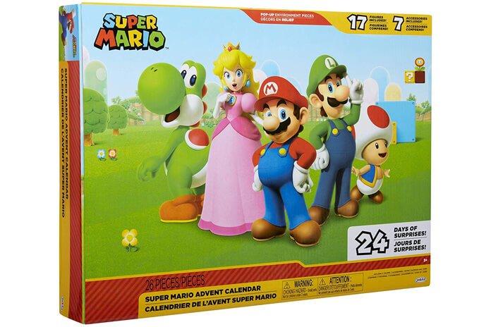 Nintendo Super Mario adventskalender