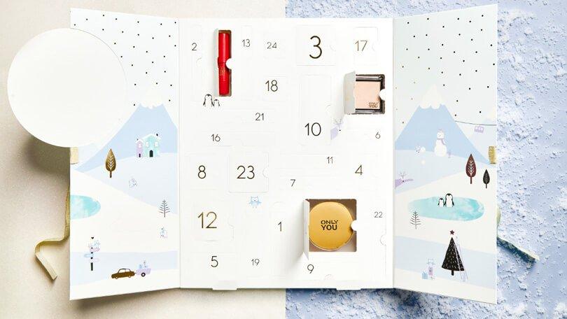 Only You Let it Snow adventskalender 2019 inhoud