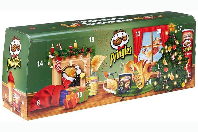 Pringles adventskalender chips