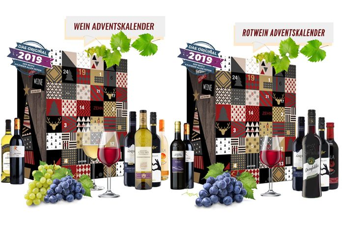 Rode Wijn adventskalender 2019