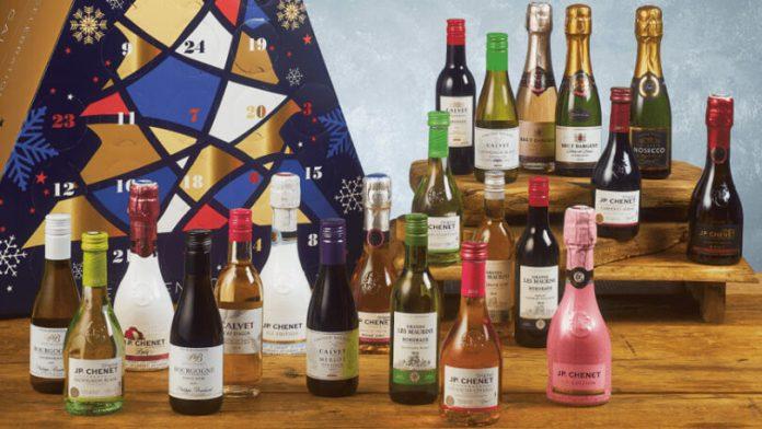 Aldi wijn adventskalender 2019