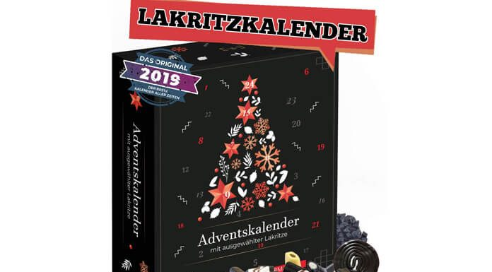 Lakritz drop adventskalender 2019