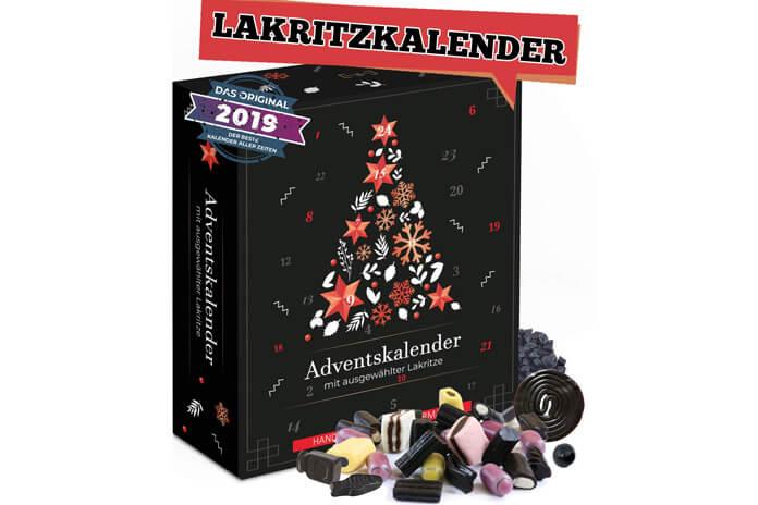 Lakritz drop adventskalender 2019