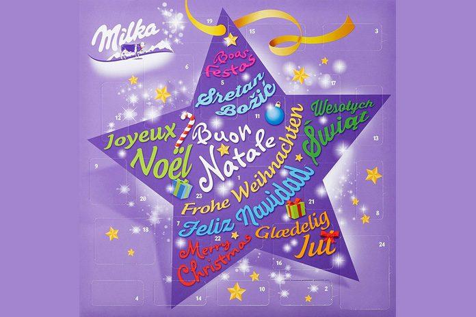 Milka Weihnachtskalender.Milka Adventskalender 2019 Heerlijke Chocolade