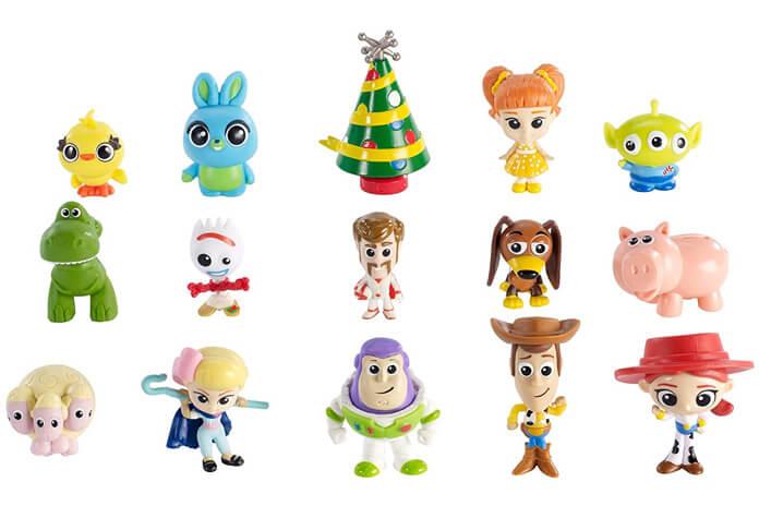 Toy Story 4 adventskalender inhoud