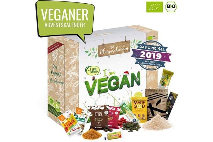 Vegan adventskalender 2019