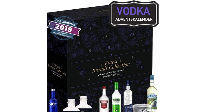 Wodka adventskalender 2019