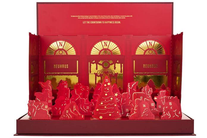 Neuhaus pop-up adventskalender bonbons