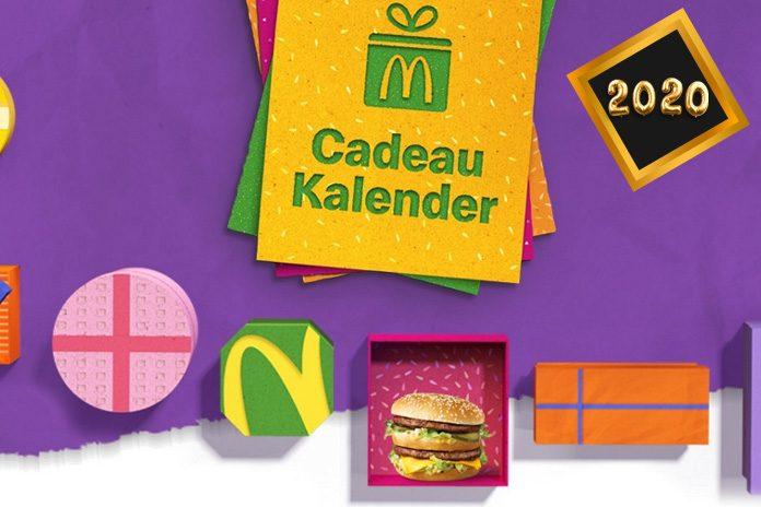 McDonald's Cadeau Kalender 2020