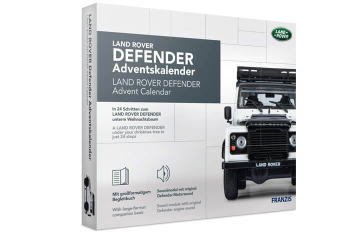 Land Rover Defender adventskalender 2020