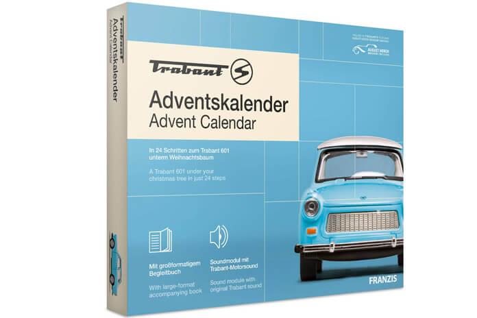 Trabant adventskalender modelbouw