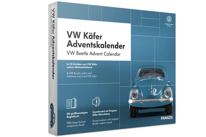 Volkswagen Kever adventskalender modelbouw