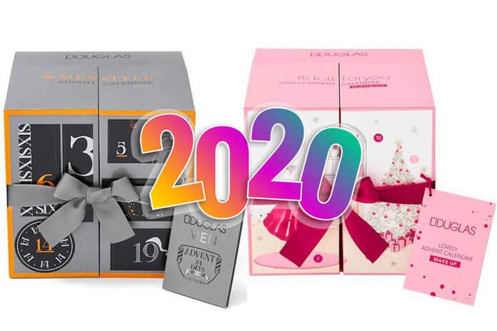 Douglas adventskalender 2020 voor mannen vrouwen