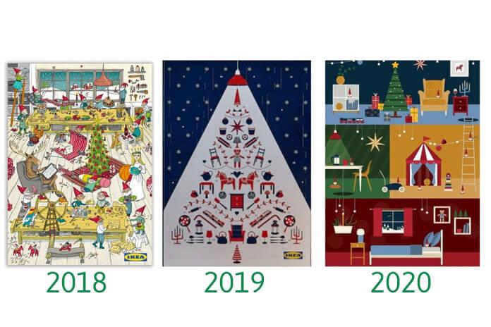 IKEA adventskalender jaren 2018 2019