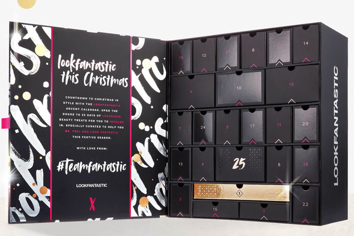 Lookfantastic adventskalender 2020