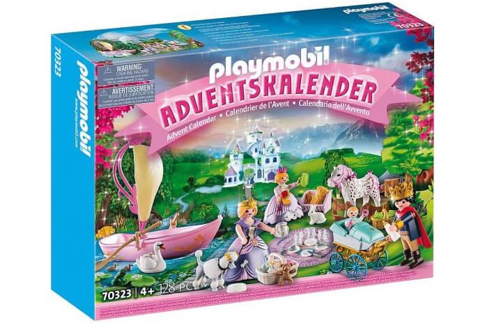 Playmobil prinsessen adventskalender 2020