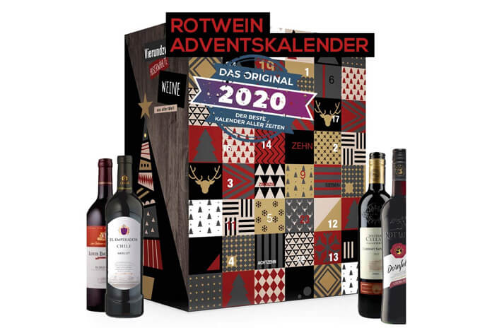 Rode wijn adventskalender 2020