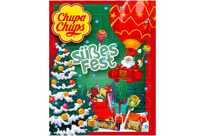 Chupa Chups adventskalender 2020