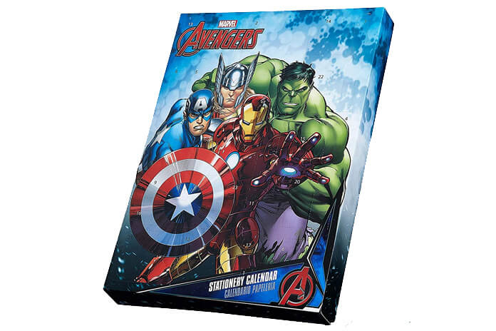 Marvel adventskalender superhelden