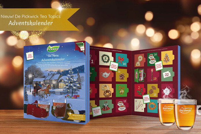 Pickwick thee adventskalender 2020 Tea Topics