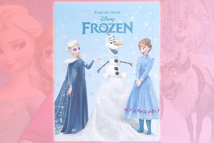 Six Frozen 2 adventskalender