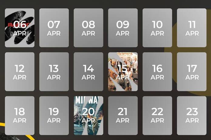 Pathé Thuis Kalender
