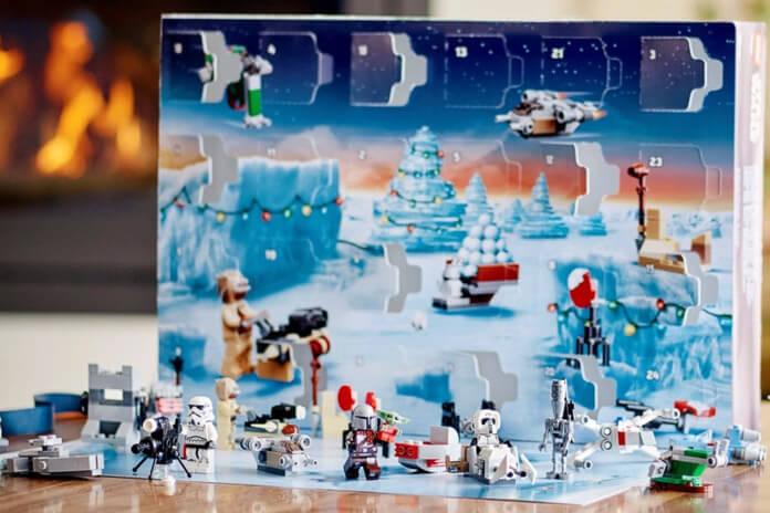 LEGO Mandalorian adventskalender inhoud