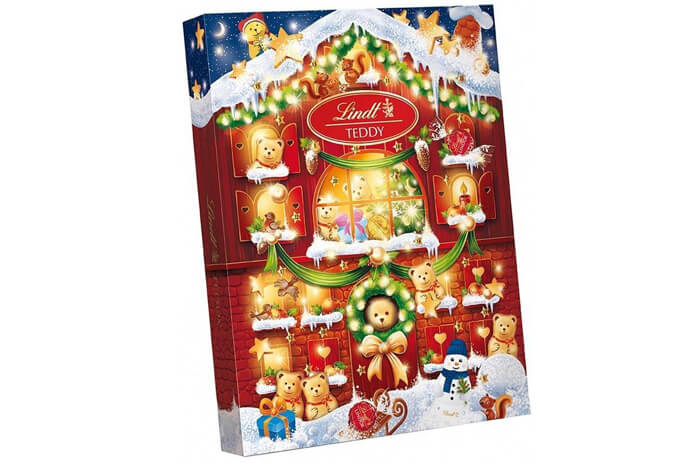 Lindt chocolade adventskalender 2021