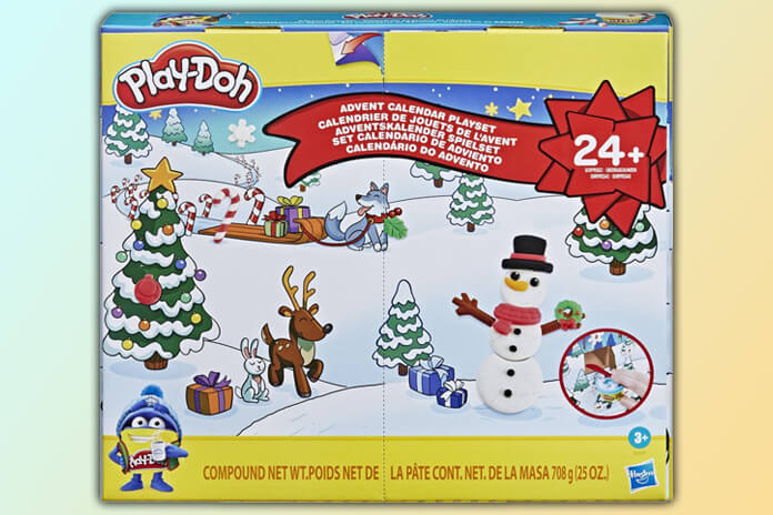 Play-Doh klei adventskalender