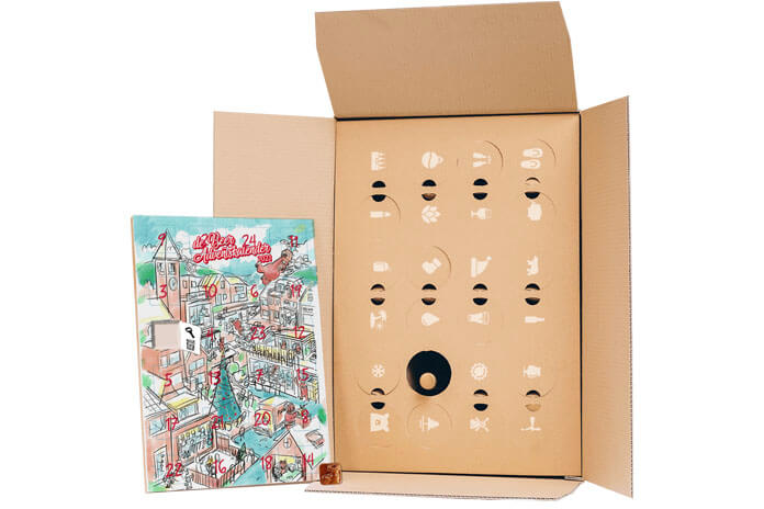 Beer in a Box Discover Mixed adventskalender