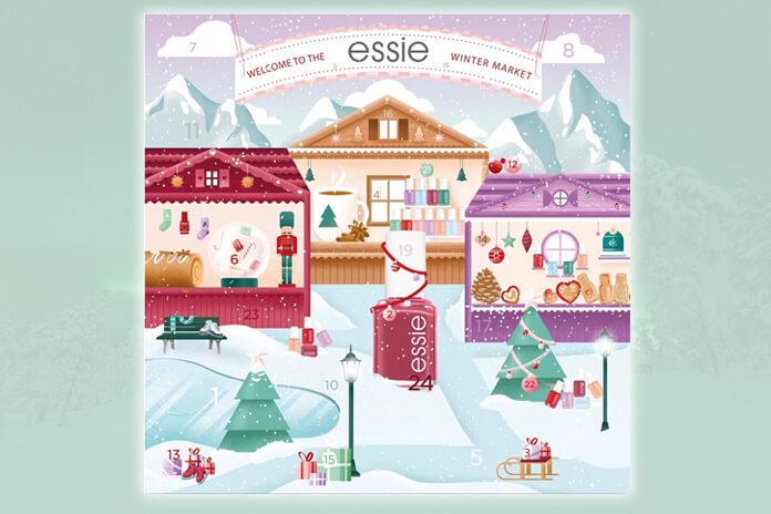 Essie adventskalender 2021 nagellak