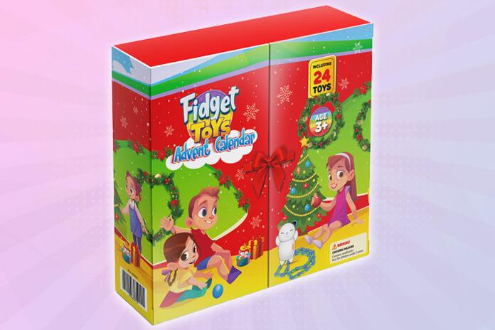 Fidget Toys adventskalender 2021