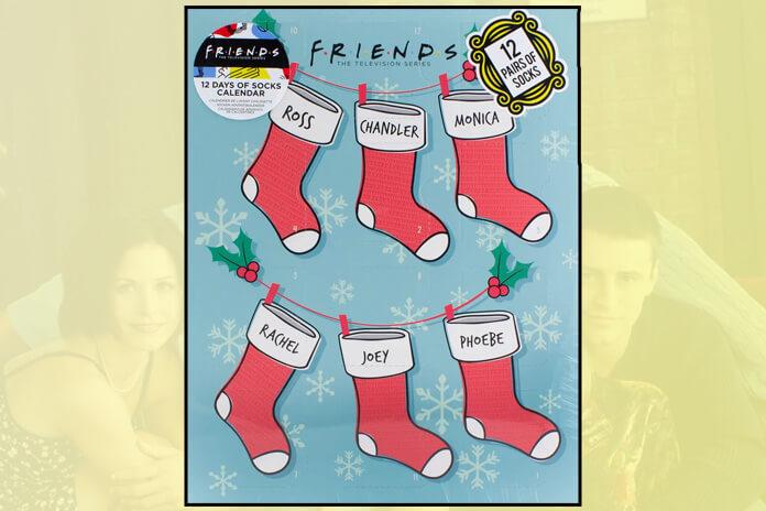 Friends sokken adventskalender