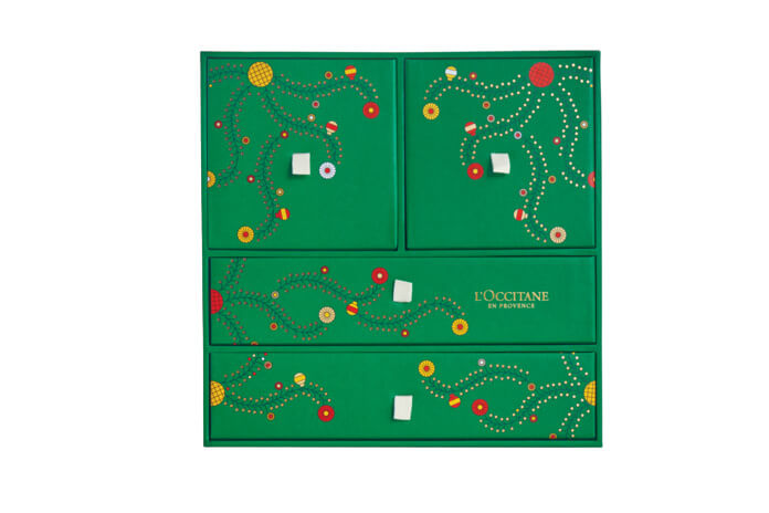 L'Occitane Kerstbox adventskalender 2021