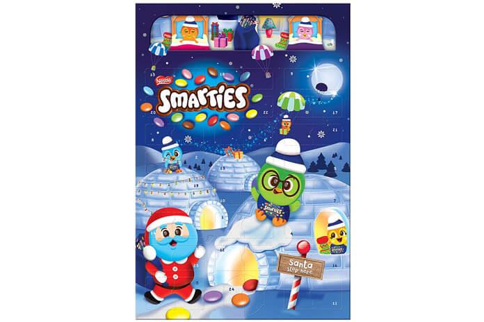 Nestlé Smarties adventskalender 2021