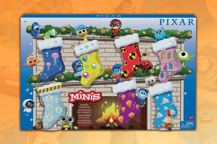 Pixar adventskalender 2021